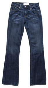 Paper Denim & Cloth Mid Rise 100% Cotton Boot Cut Jeans-Medium Wash