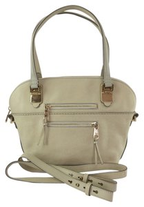 Chloé Angie Medium Ivory Leather Tote Satchel in ivory oak