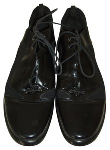 Janet & Janet Italy Lace Up Oxford Black Athletic