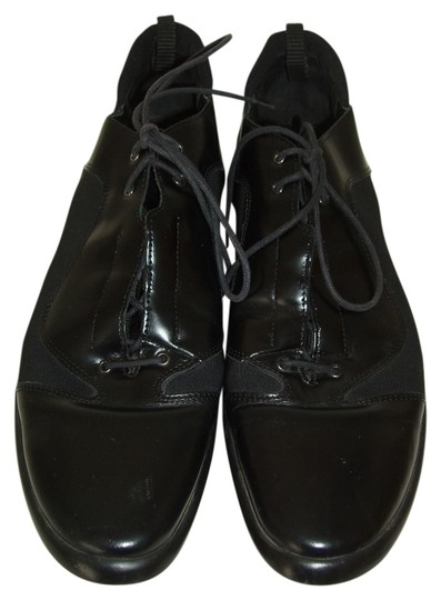 Janet & Janet Italy Lace Up Oxford Comfort Black Athletic