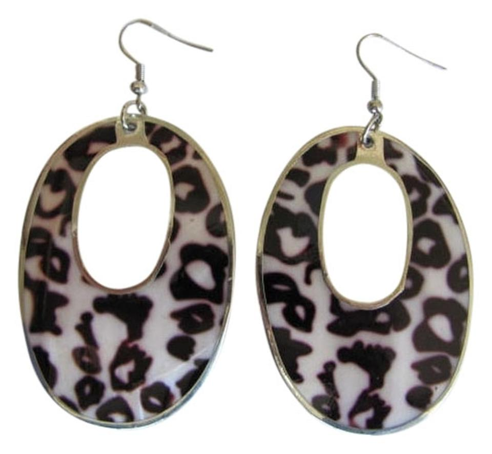Other New Abalone Pearl Animal Print Earrings
