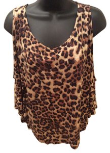 Forever 21 Top leopard print