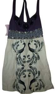 Free People short dress Peacocks Jeweled on Tradesy