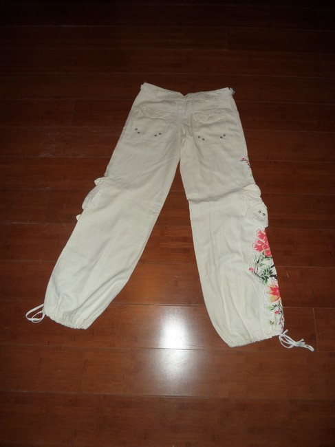 Da-Nang Cargo Pants White