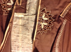 The Limited Blazer Stitching Beading To Add Flair Slight Western Theme Wear All Seasons Brown, with beige accents Jacket