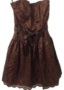 Jessica McClintock Lace Sparkles Embroidered Dress