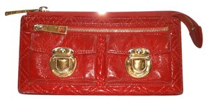 Marc Jacobs Marc Jacobs Red Quilted Wallet