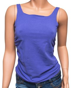 Nougat London Ruching Bodycon Scoop Neck Top Purple