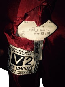 MENS V2 VERSACE Fancy Red Jacket Red Jacket