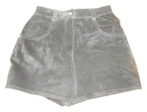 Harley Davidson Suede Dress Shorts BLACK