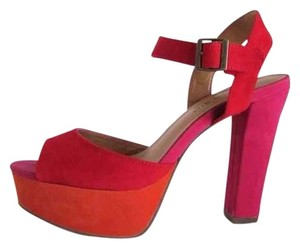 7f16428d7598 Orange Madden Girl Pumps - Up to 90% off at Tradesy