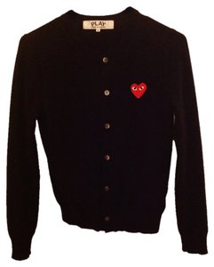 PLAY COMME des GARCONS Cdg S Cardigan Sweater