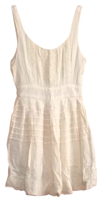 Kimchi Blue short dress Creme on Tradesy