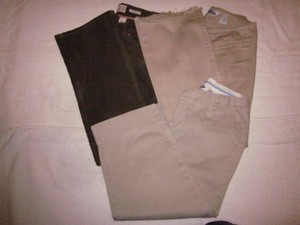 3 Old Navy Pants in One Price Corduroy Straight Khaki/Chino Pants khaki
