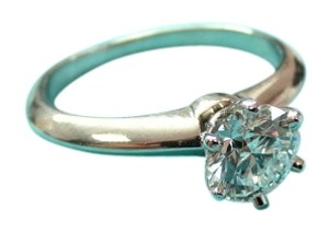 Tiffany & Co. Tiffany & Co Platinum GIA .70ct D VVS2 Round Diamond Solitaire Engagement Ring