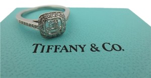 Tiffany & Co. Tiffany & Co Platinum Legacy Diamond Engagement Ring .78Ct G-VVS1