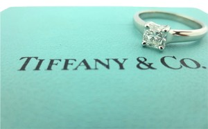 Tiffany & Co. Tiffany & Co Platinum Lucida Diamond Engagement Ring .54Ct H-VVS1