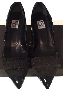 Barneys New York black Flats