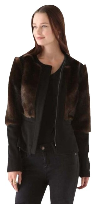 Preload https://img-static.tradesy.com/item/728795/torn-by-ronny-kobo-black-and-brownish-fiona-faux-fur-size-2-xs-0-0-650-650.jpg
