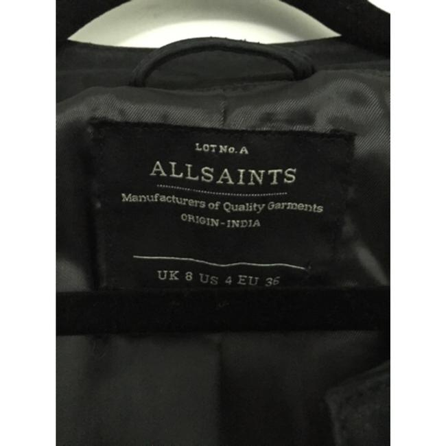 AllSaints Blac Leather Jacket