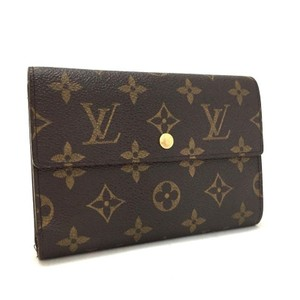 Louis Vuitton Alexandra Portefeuille International GM Signature Monogram Wallet