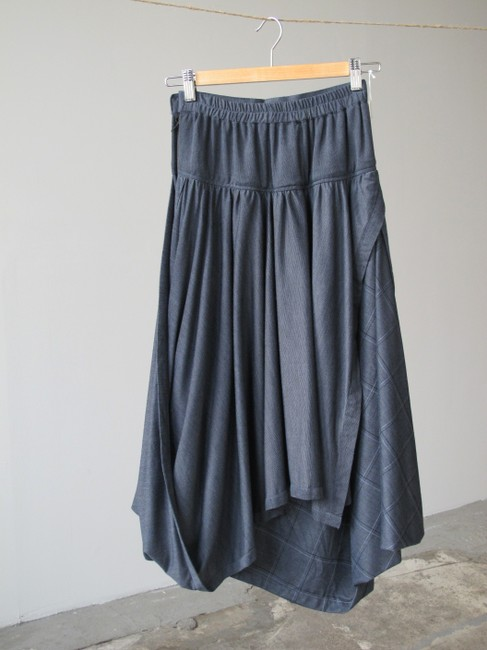 Other Checkered Rick Owens Yohji Yamamoto Comme Des Garcons Unique Skirt Gray Image 2