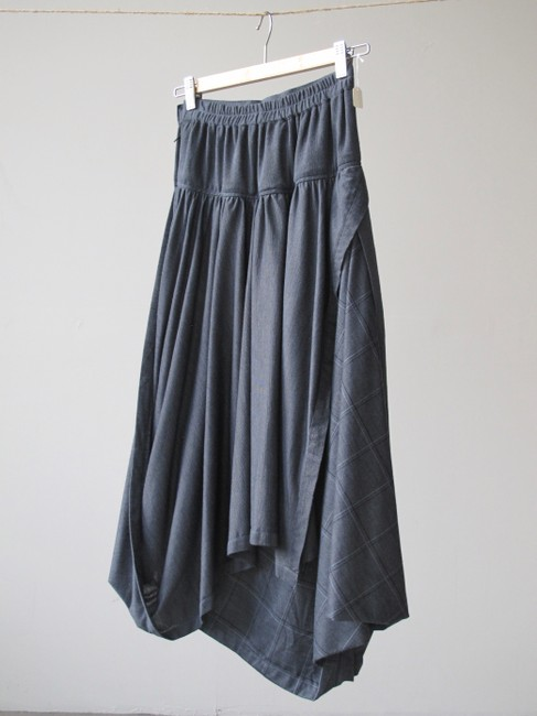 Other Checkered Rick Owens Yohji Yamamoto Comme Des Garcons Unique Skirt Gray Image 3