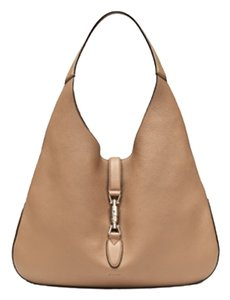 Gucci Jackie Beige Free Shipping Hobo Bag