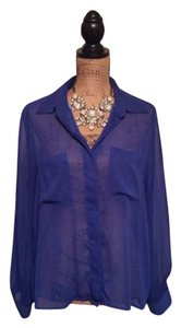 Xhilaration Top Royal blue