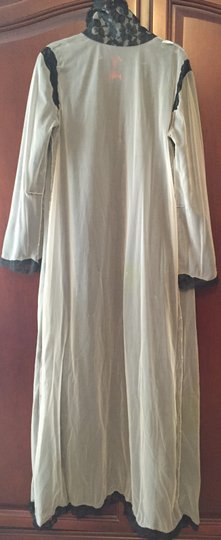 Hollywood by Munsing Vintage Floral Lace Robe Size 5/6 Image 4