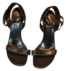 Fendi chocolat brown Sandals