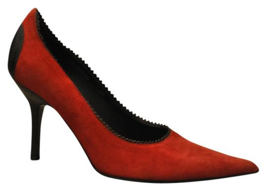 Preload https://img-static.tradesy.com/item/729032/donald-j-pliner-red-plunge-suede-leather-classic-pumps-size-us-75-0-0-540-540.jpg