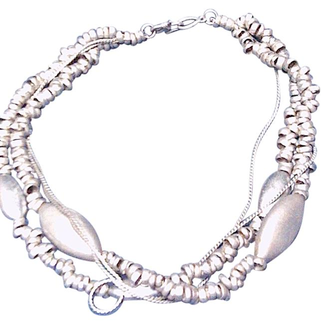Item - Silver One Of A Kind Artisan Necklace