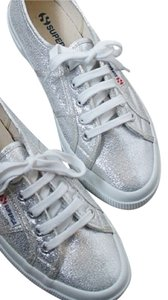 Superga Sneaker Silver Athletic