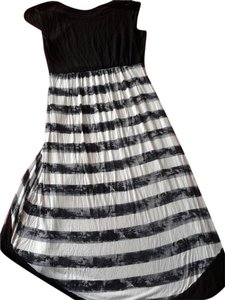 black/white Maxi Dress by Kensie