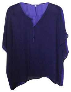 Collective Concepts Top Navy & Purple