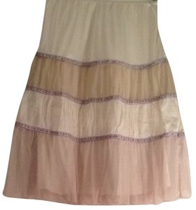 Free People Petticoat Vintage Skirt White, Ivory