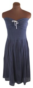 Odille short dress Navy Rope Sweetheart Nautical on Tradesy