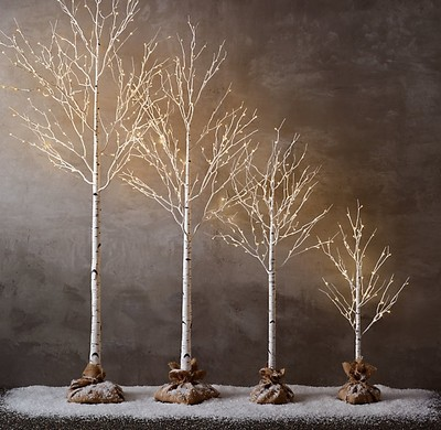 Restoration Hardware Birch Trees Tradesy Weddings