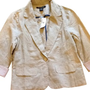 Foreign Exchange Beige Blazer