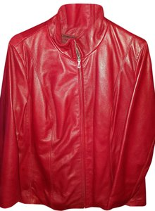 Wilsons Leather Wilson Red Leather Jacket