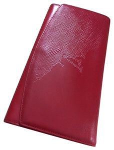 Louis Vuitton Opera Pochette Egee Rouge RED Clutch