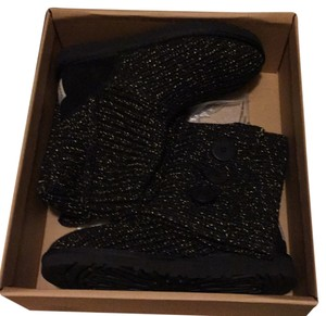 UGG Australia Black with gold Boots