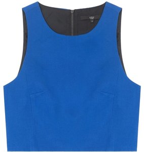 Tibi Top Bright Blue