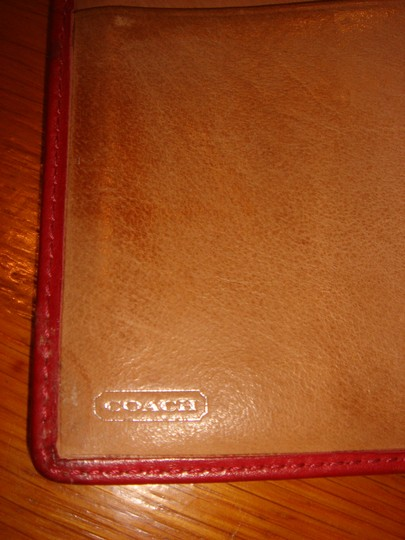 Coach Red COACH WALLET