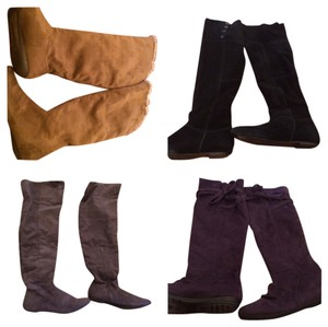 Chinese Laundry Purple,Grey,Tan,Black Boots