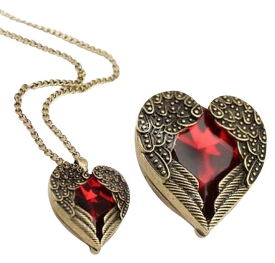 Preload https://item1.tradesy.com/images/red-alloy-acrylic-heat-and-wings-necklace-729745-0-0.jpg?width=440&height=440