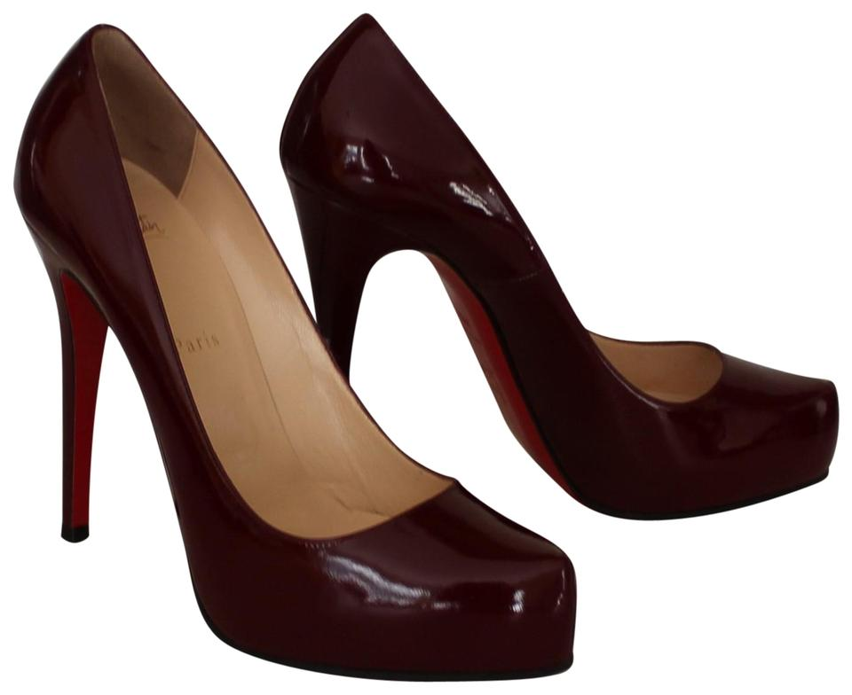 4890caaada9 Christian Louboutin Rolando Pointed Toe Hidden Platform Patent Leather Sole  Red Pumps Image 0 ...