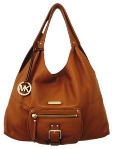 Michael Kors Satchel in Brown/Luggage