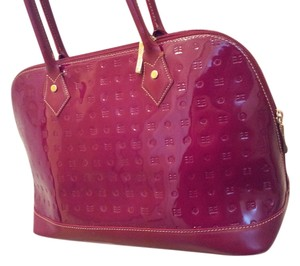 Arcadia Satchel in Red/Fuschia